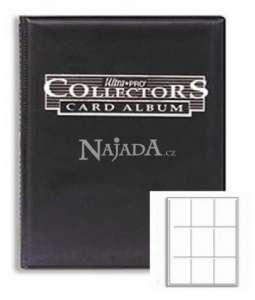 Ultra Pro album A4 - černé - NM
