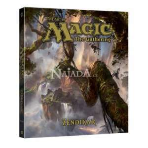 The Art of Magic: The Gathering - Zendikar Book - NM