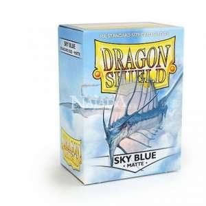 Dragon Shield 100ks - Matte Sky Blue - NM