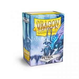 Dragon Shield 100ks - Matte Petrol - NM