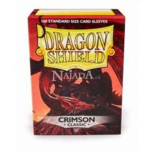 Dragon Shield 100ks - Crimson - NM