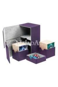 Ultimate Guard Twin Flip n Tray Deck Case 160+ Fialová - NM