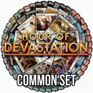 Hour of Devastation Common set - NM