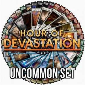 Hour of Devastation Uncommon set - NM