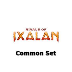 Rivals of Ixalan Common set - NM