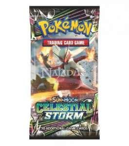 Pokémon - Sun & Moon Celestial Storm Booster - NM