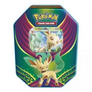 Pokémon - Evolution Celebration Tin - Leafeon GX - NM
