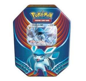 Pokémon - Evolution Celebration Tin - Glaceon GX - NM