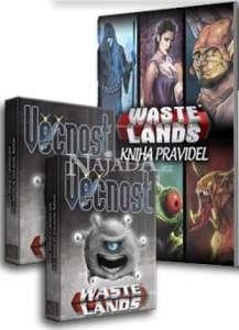 Wastelands Starter Kit: 2x Věčnost Booster + Kniha pravidel 2018 - NM