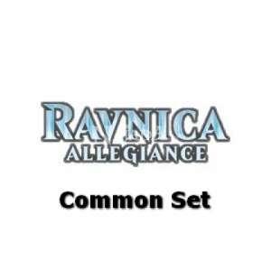Ravnica Allegiance Common Set - NM