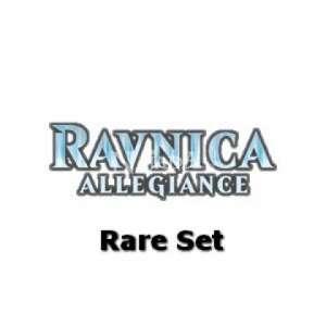 Ravnica Allegiance Rare Set - NM