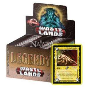 Wastelands Legendy Display - NM