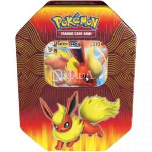 Pokémon - Elemental Power Tin - Flareon GX - NM
