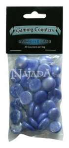 Gaming Counters - Marble Blue - NM