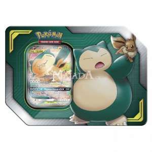 Pokémon - TAG Team Tin - Eevee & Snorlax GX - NM