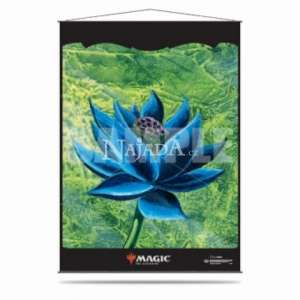 Wall Scroll - Black Lotus - NM