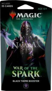 War of the Spark Theme Booster - Black - NM