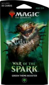 War of the Spark Theme Booster - Green - NM