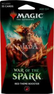 War of the Spark Theme Booster - Red - NM