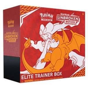 Pokémon - Sun & Moon Unbroken Bonds Elite Trainer Box - NM