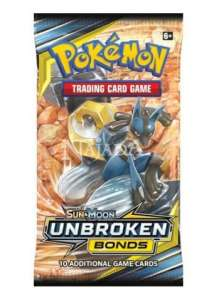 Pokémon - Sun & Moon Unbroken Bonds Booster - NM