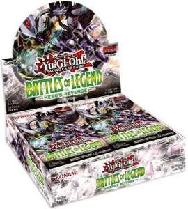 Battles of Legend Heros Revenge Booster Box - NM