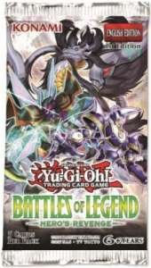 Battles of Legend Heros Revenge Booster - NM