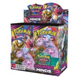 Pokémon - Sun & Moon Unified Minds Booster Box - NM