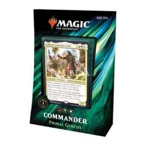 """Commander 2019: """"Primal Genesis"""" Deck - NM"""