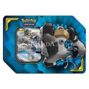 Pokémon - Power Partnership Tin - Lucario & Melmetal-GX - NM