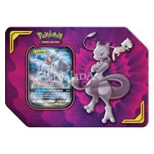 Pokémon - Power Partnership Tin - Mew & Mewtwo-GX - NM