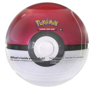 Pokémon - 2019 Pokéball Tin - Red - NM