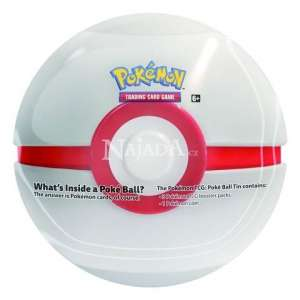 Pokémon - 2019 Pokéball Tin - White - NM