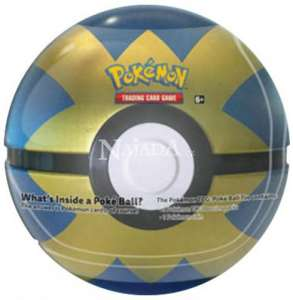 Pokémon - 2019 Pokéball Tin - Blue/Gold - NM