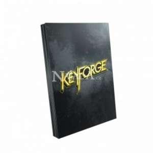 KeyForge Logo Sleeves - Black - NM