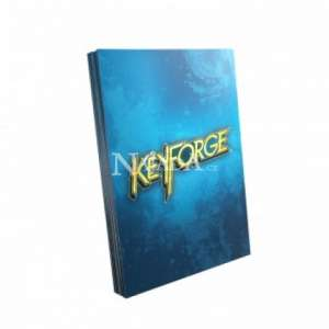 KeyForge Logo Sleeves - Blue - NM