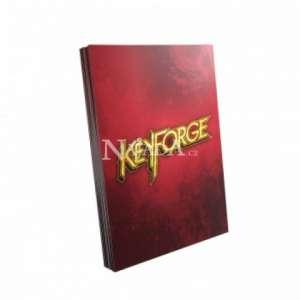 KeyForge Logo Sleeves - Red - NM