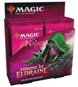 Throne of Eldraine Collector Booster Box - NM