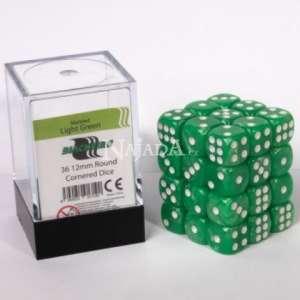 Kostka 6-stěnná - Marbled Light Green - NM