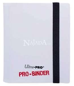 Ultra Pro 2 Pocket PRO-BINDER bílá - NM