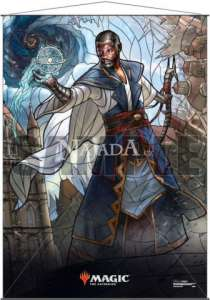 Wall Scroll - Stained Glass Teferi - NM