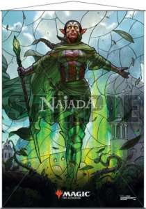 Wall Scroll - Stained Glass Nissa - NM