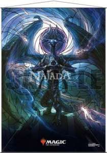 Wall Scroll - Stained Glass Nicol Bolas - NM
