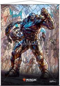 Wall Scroll - Stained Glass Karn - NM