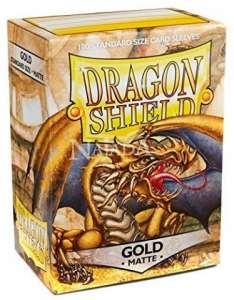 Dragon Shield 100ks - Matte Gold - NM