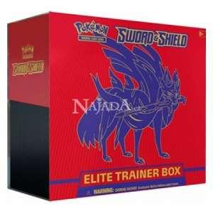 Pokémon - Sword & Shield Elite Trainer Box (Zacian) - NM