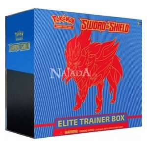 Pokémon - Sword & Shield Elite Trainer Box (Zamazenta) - NM
