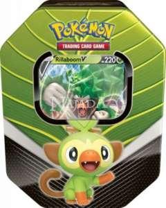 Pokémon - Galar Tin - Rillaboom V - NM