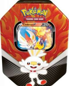 Pokémon - Galar Tin - Cinderace V - NM