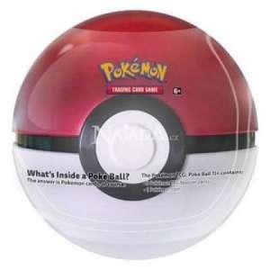 Pokémon - 2020 Pokéball Tin - Red - NM